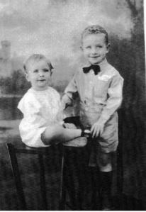 harry and jim age 6