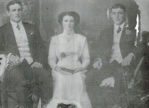 James Joseph Judge, Mary Judge and John 'Jack' Judge (Formerly Breheny's in Ireland).
