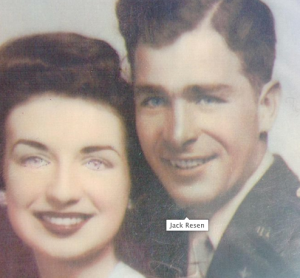 Mary and Jack Resen 13 April 1945