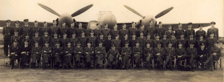 Squadron 151 photo with Jimmy Battle Second Row