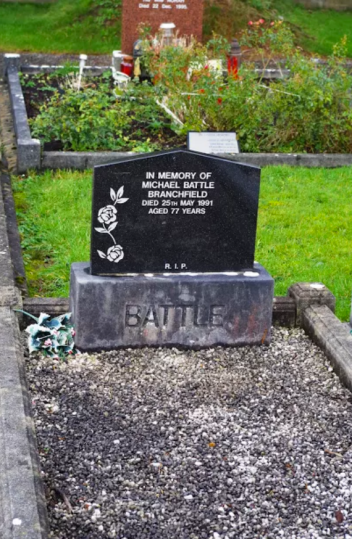 Michael Battle's Gravestone