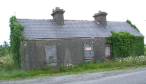 irish dwelling that looked a lot like the one my grandfather was born in